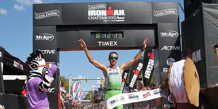 Bink alleen recordhouder na 15de Ironman zege