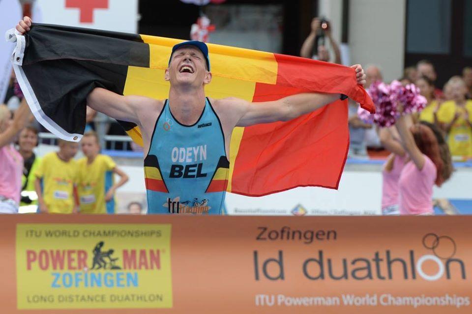 Seppe Odeyn pakt wereldtitel duatlon in Zofingen