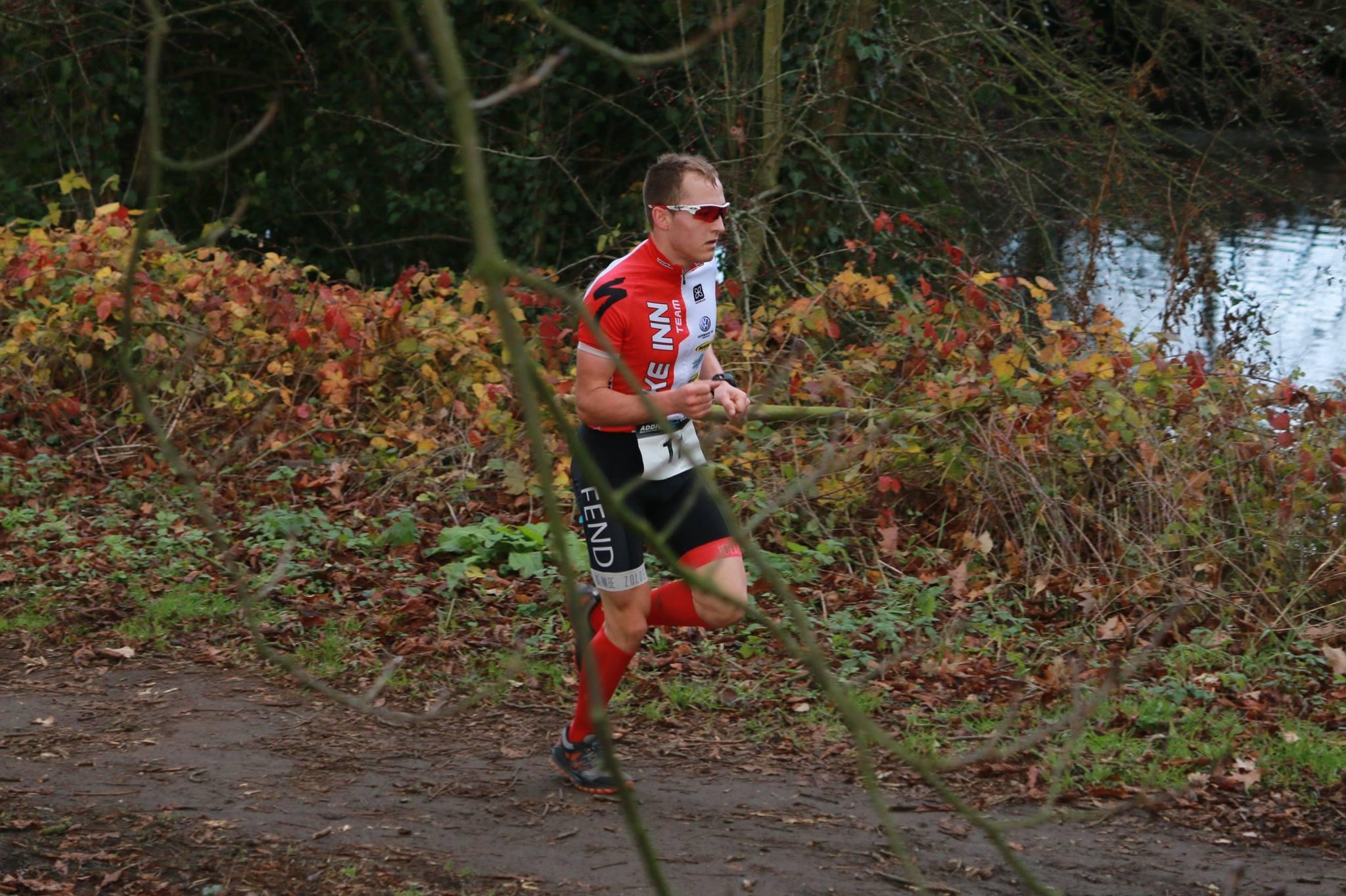 Mathias Cloostermans wint in Wommelgem (foto: Chris Hofkens)