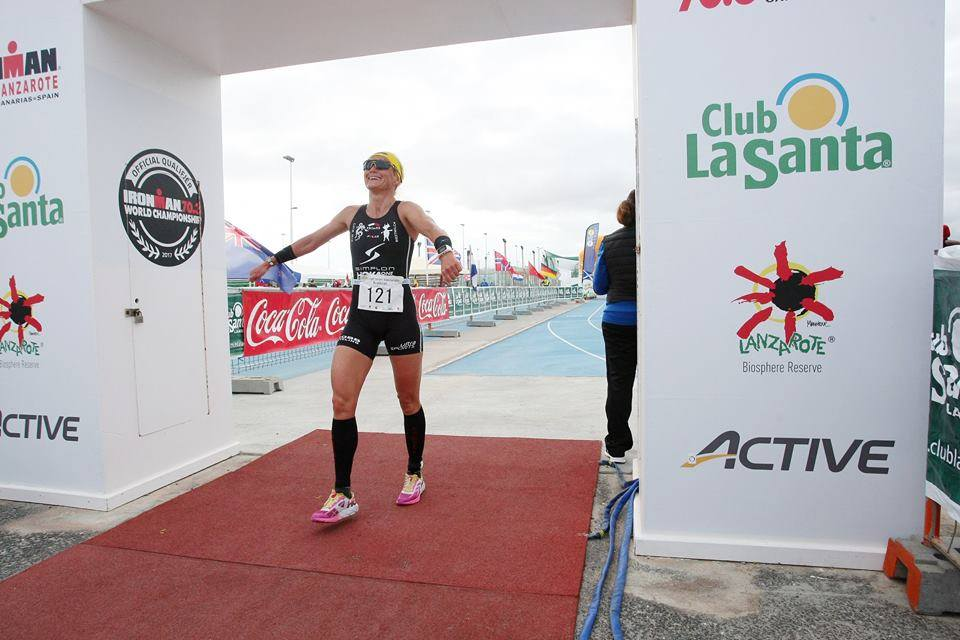 Yvonne Van Vlerken Lanzarote duathlon 2017