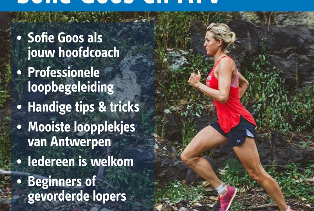 Loop samen met Sofie Goos en Sportoase
