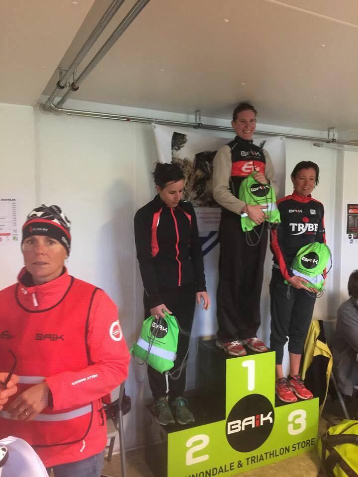 BAIK Xduathlon Nele Vermeulen podium vrouwen