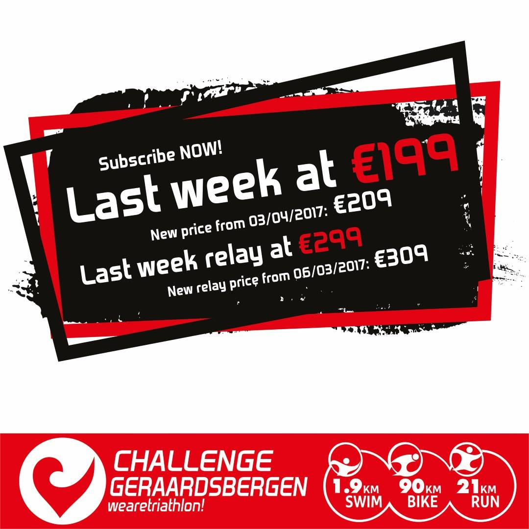 CHallenge Geraardsbergen last week