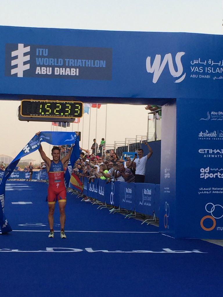 Gomez wint Abu Dhabi 2017