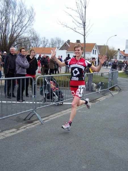 Melanie Matthys won de Veloopzwem in 2010 (foto: Johan Tack)