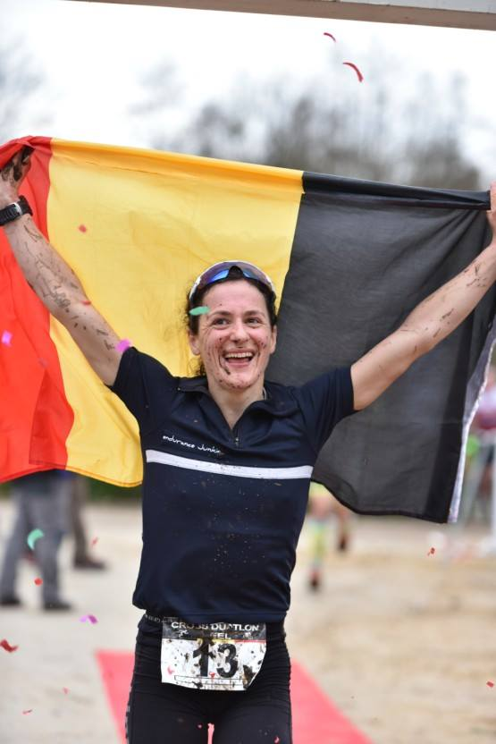 Stefanie Adam verrassend kampioen (foto: Johan Tack)