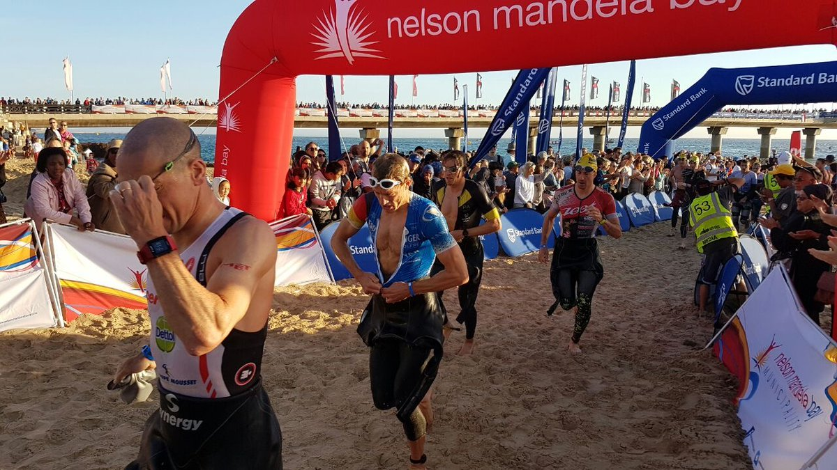 Frederik Van Lierde IM Zuid-Afrika 2017 swim