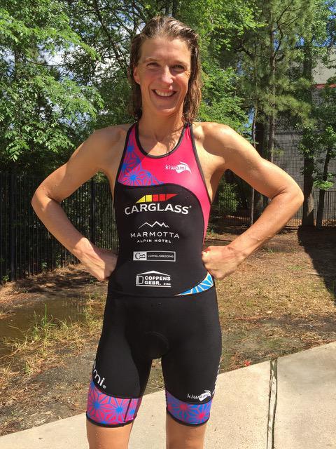 Tine Deckers maakt van Ironman Texas eerste hoofddoel
