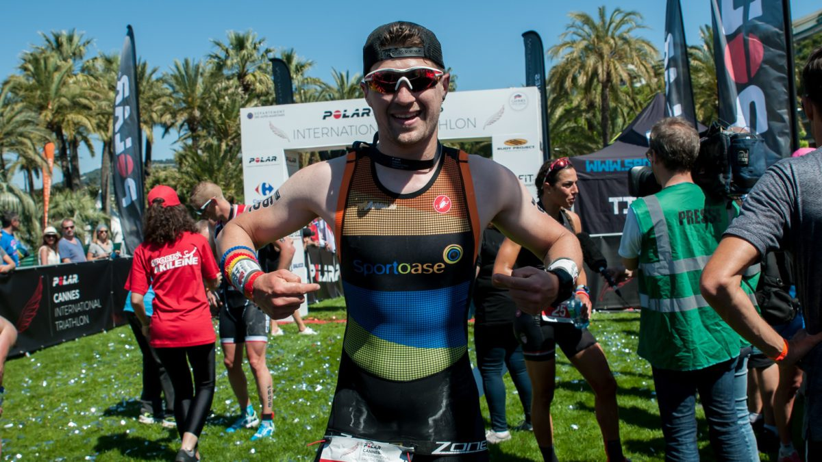 """M'as-tu-vu"" op de triatlon van Cannes"