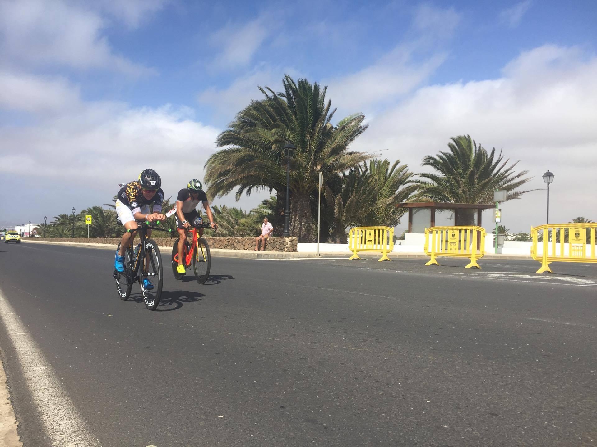 Alexandra Tondeur Lanzarote bike 2017