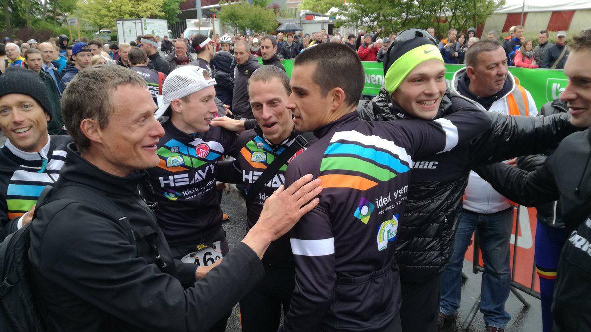Atriac Antwerpen pakt de dubbel op het BK ploegen