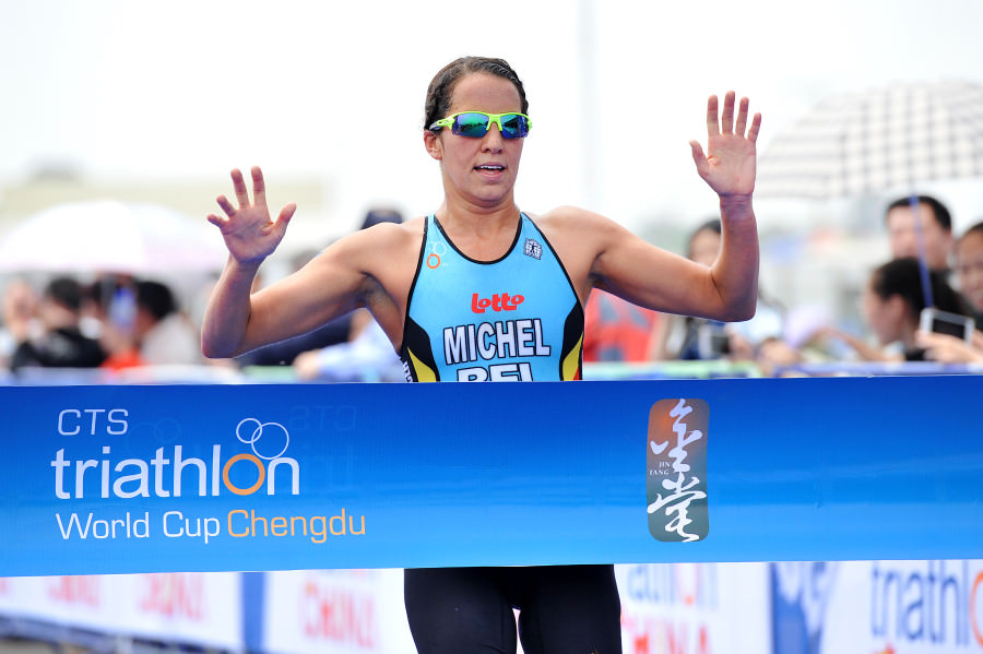 Claire Michel wint semi final in Chengdu