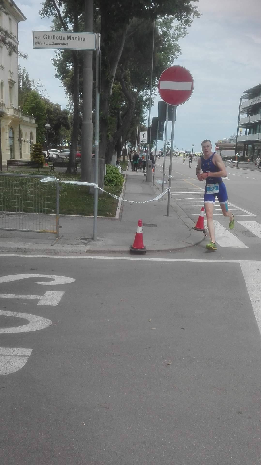 Hans Verbist Rimini run 2017