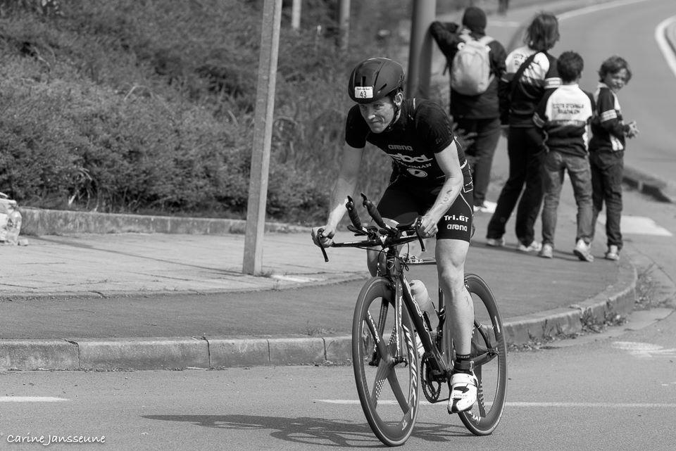 Jochen Neyrinck voor de valpartij in Douai (foto: Carine Jansseune)