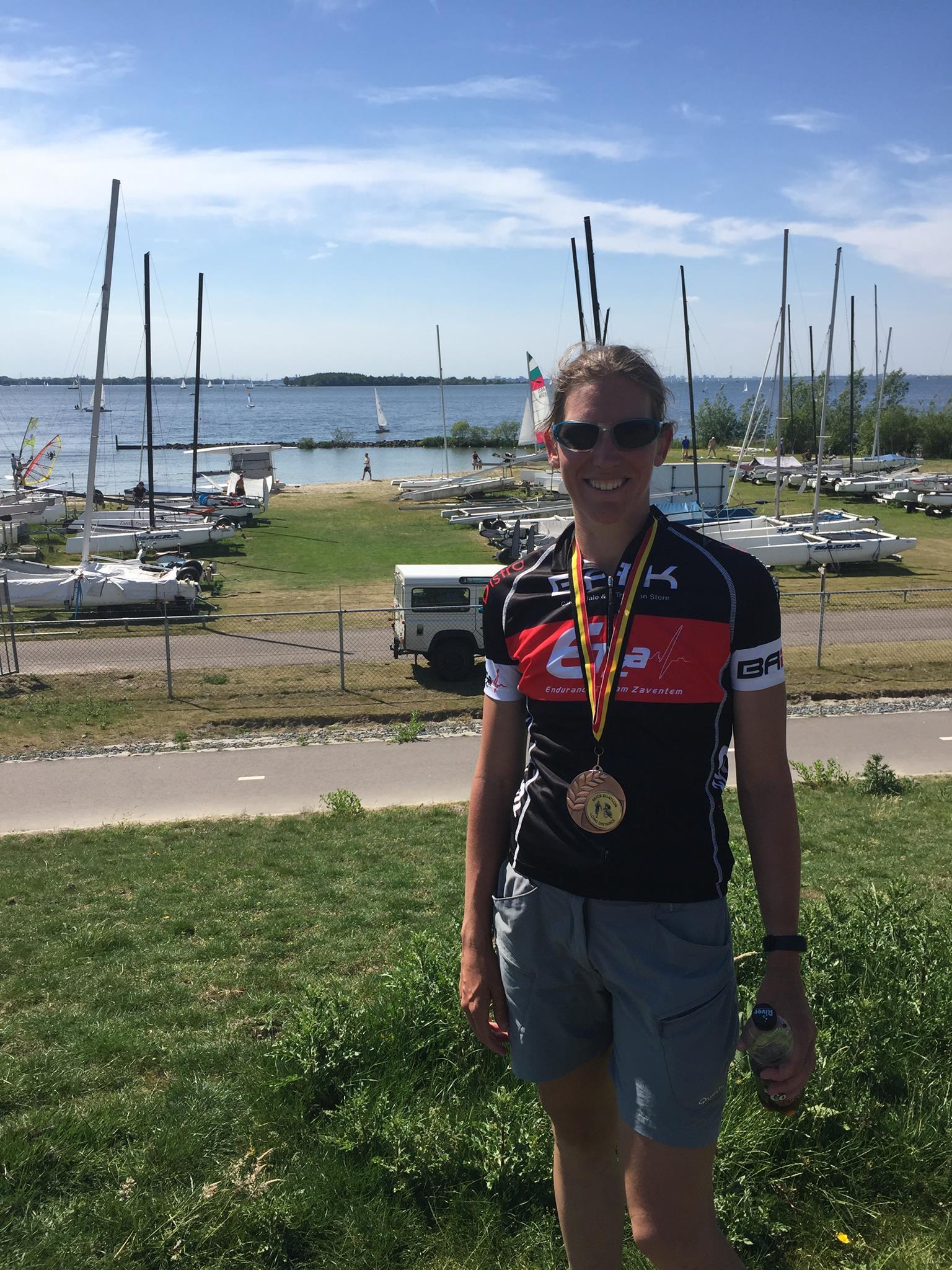 Nele Vermeulen medaille Almere