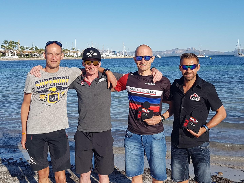 Roel, Geert, Ad en Kris 703 Mallorca