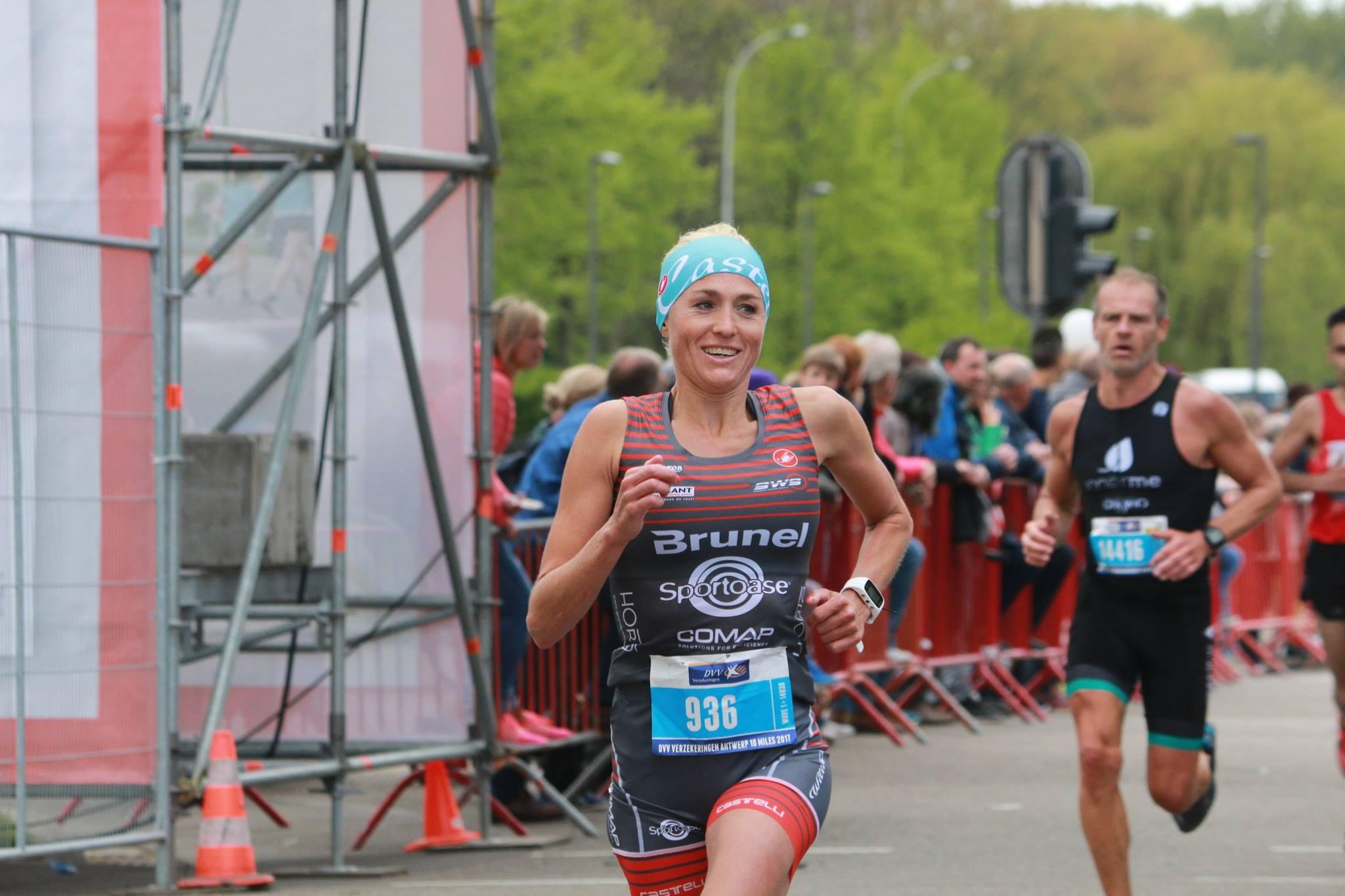 Sofie Goos werd dit seizoen al 3de op de 10 Miles (foto: Chris Hofkens)