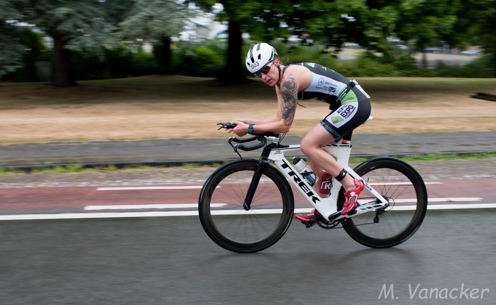 Charlotte Deldaele Brugge bike