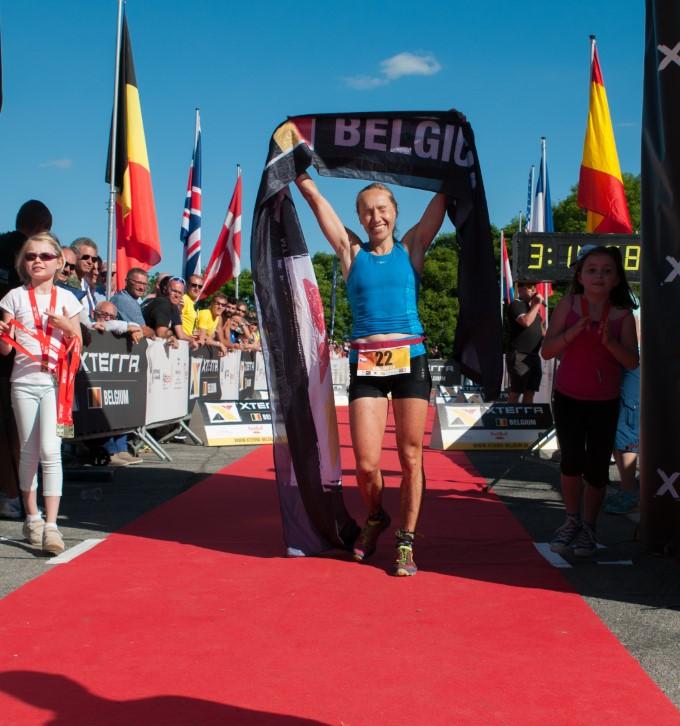 Helena Erbenova wint (foto: Mario Vanacker)