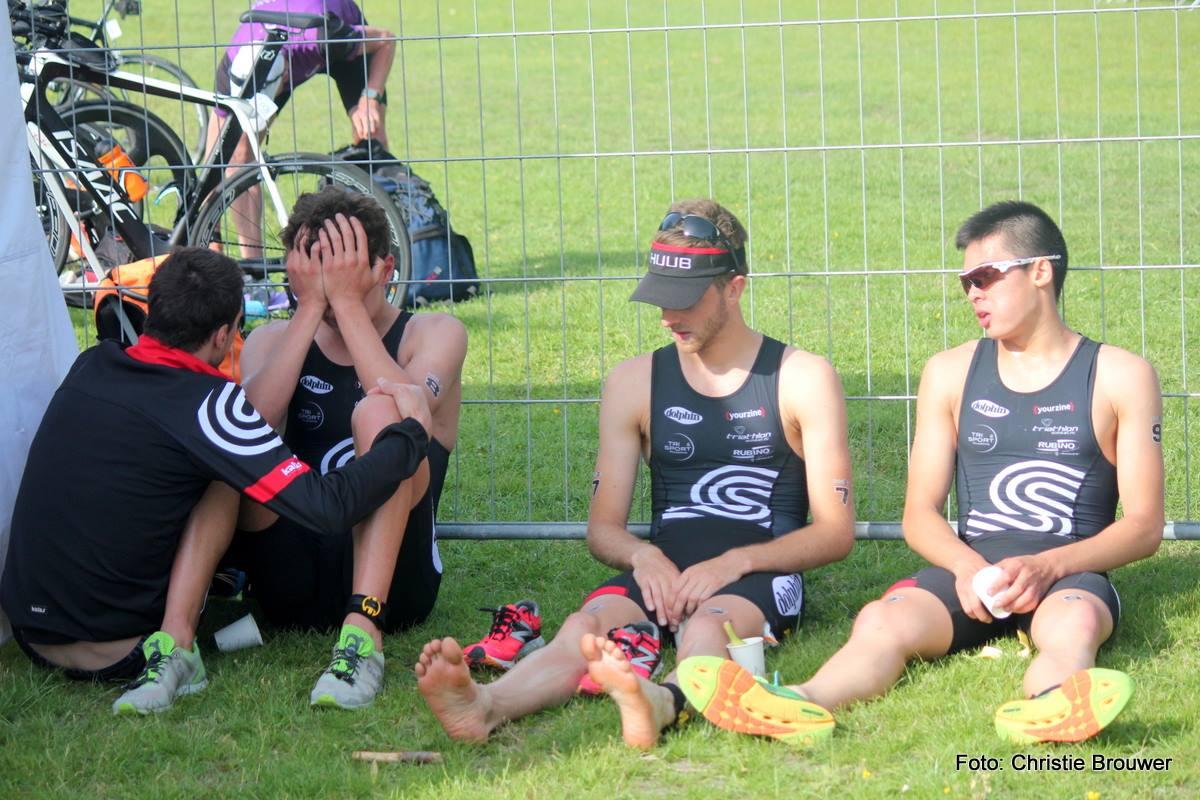 Squadra tussen verdriet en vreugde (foto: Christie Brouwer)