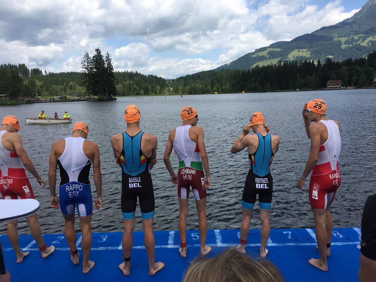 Juniores start EK Kitzbuhel