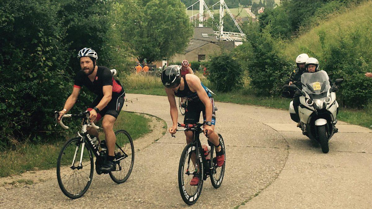 Suetens en Adam van start tot finish in Kanne
