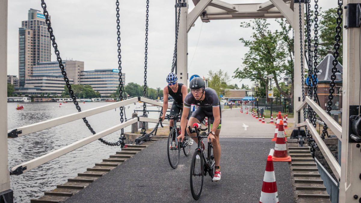 Jessy Beynaerts derde in halve TRI.Amsterdam