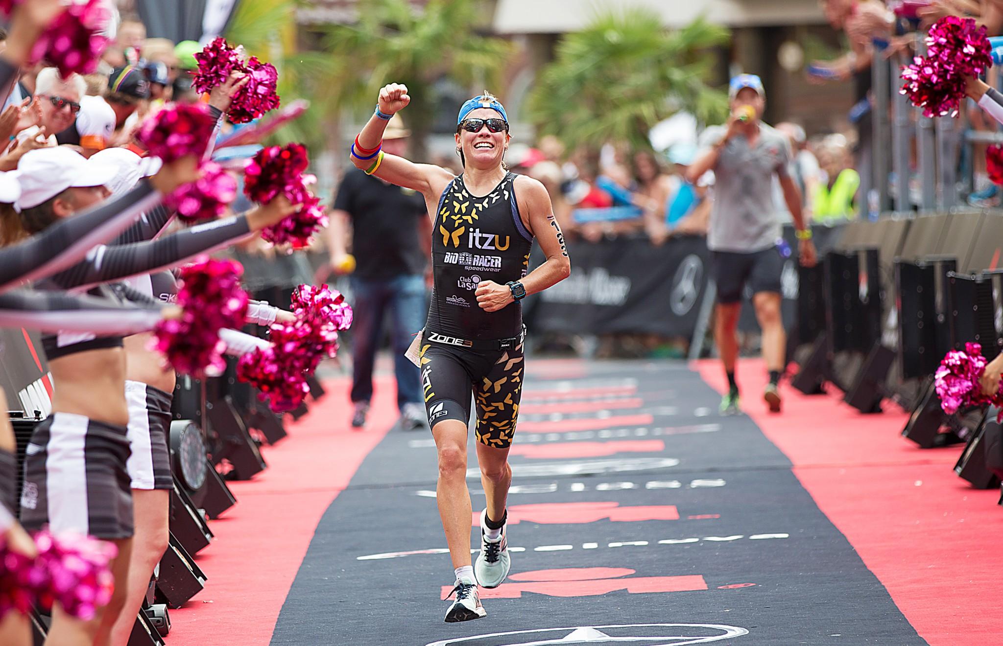Alexandra Tondeur derde in EK Ironman (foto: Ingo Kutsche)
