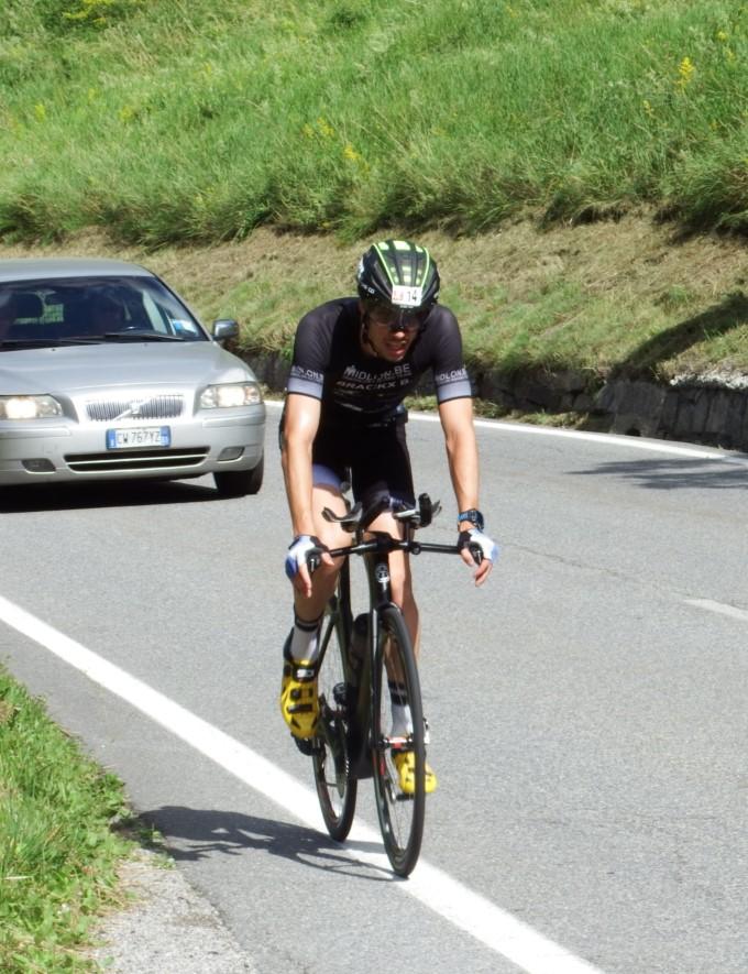 Brecht Brackx bike alleen SBM