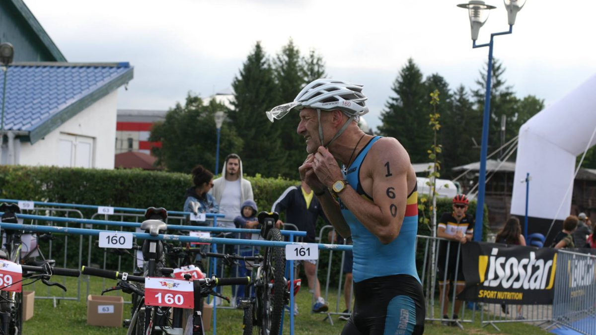 Didier pakt Europese titel cross triatlon