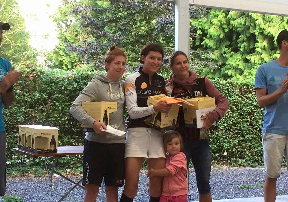 Sweta Meersman en Sylvain Denis winnen halve van Maredsous