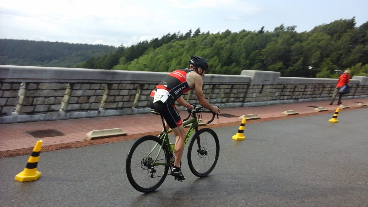 Winnaar op dikke banden in Eupen – Charles Leduc