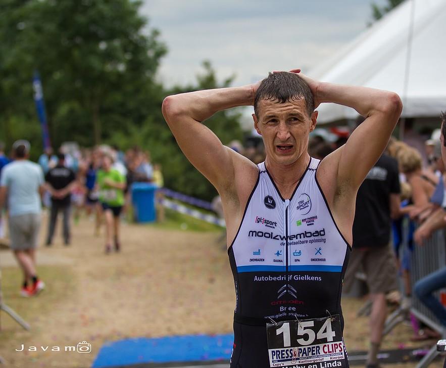 De betreurde triatleet Jurgen Geys van Trisportmsk, veel te vroeg heengegaan...