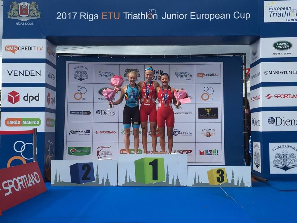 Kiara Lenaertz podium Riga