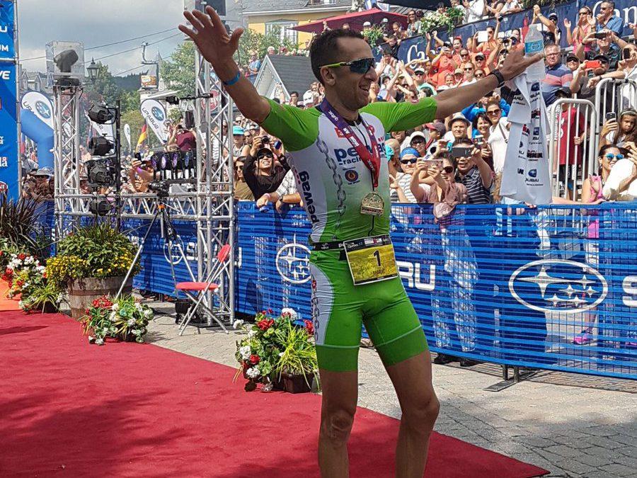 Vanhoenacker wint 16de Ironman in Mont Tremblant