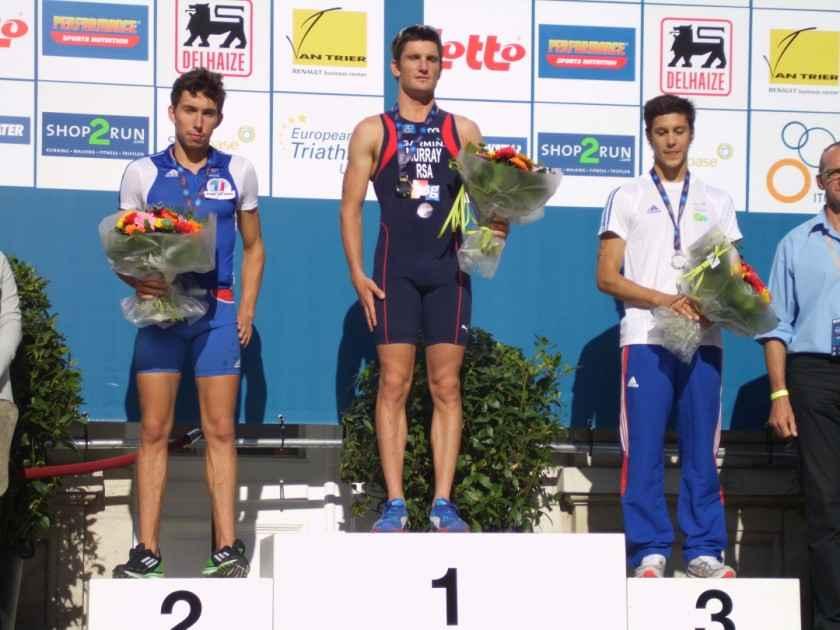 Murray podium Brasschaat 2011