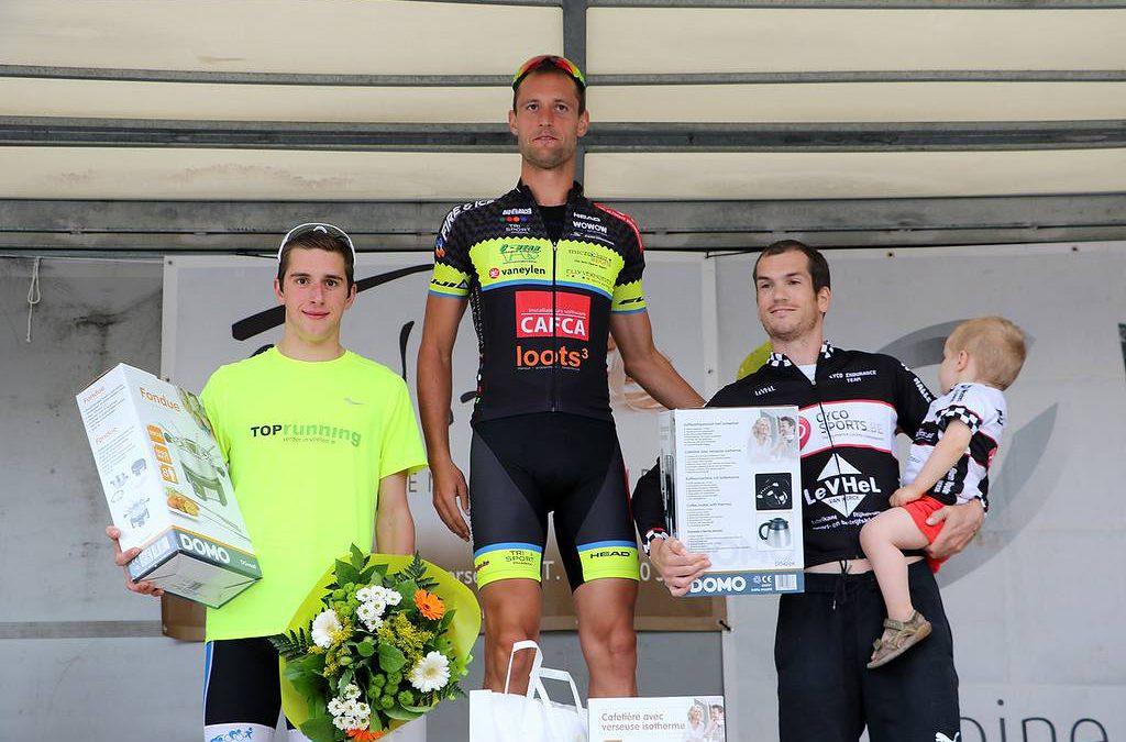 Ruben Geys wint triatlon Rijkevorsel
