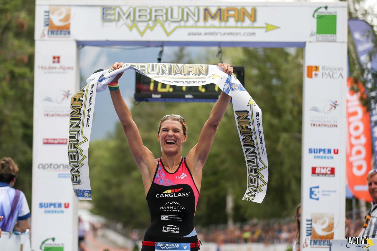 Tine Deckers wint Embrunman