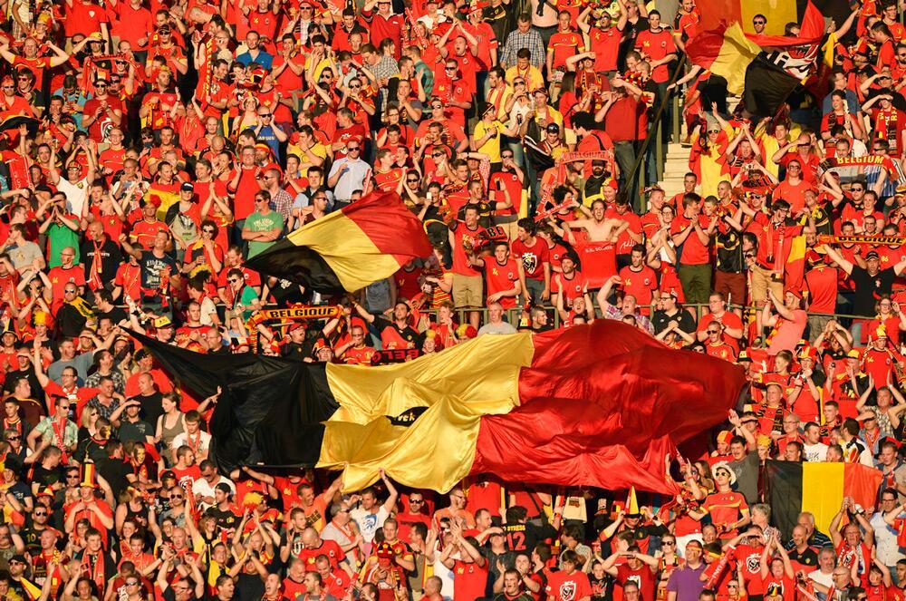 Kom mee supporteren in het 'Belgian House' in Rotterdam