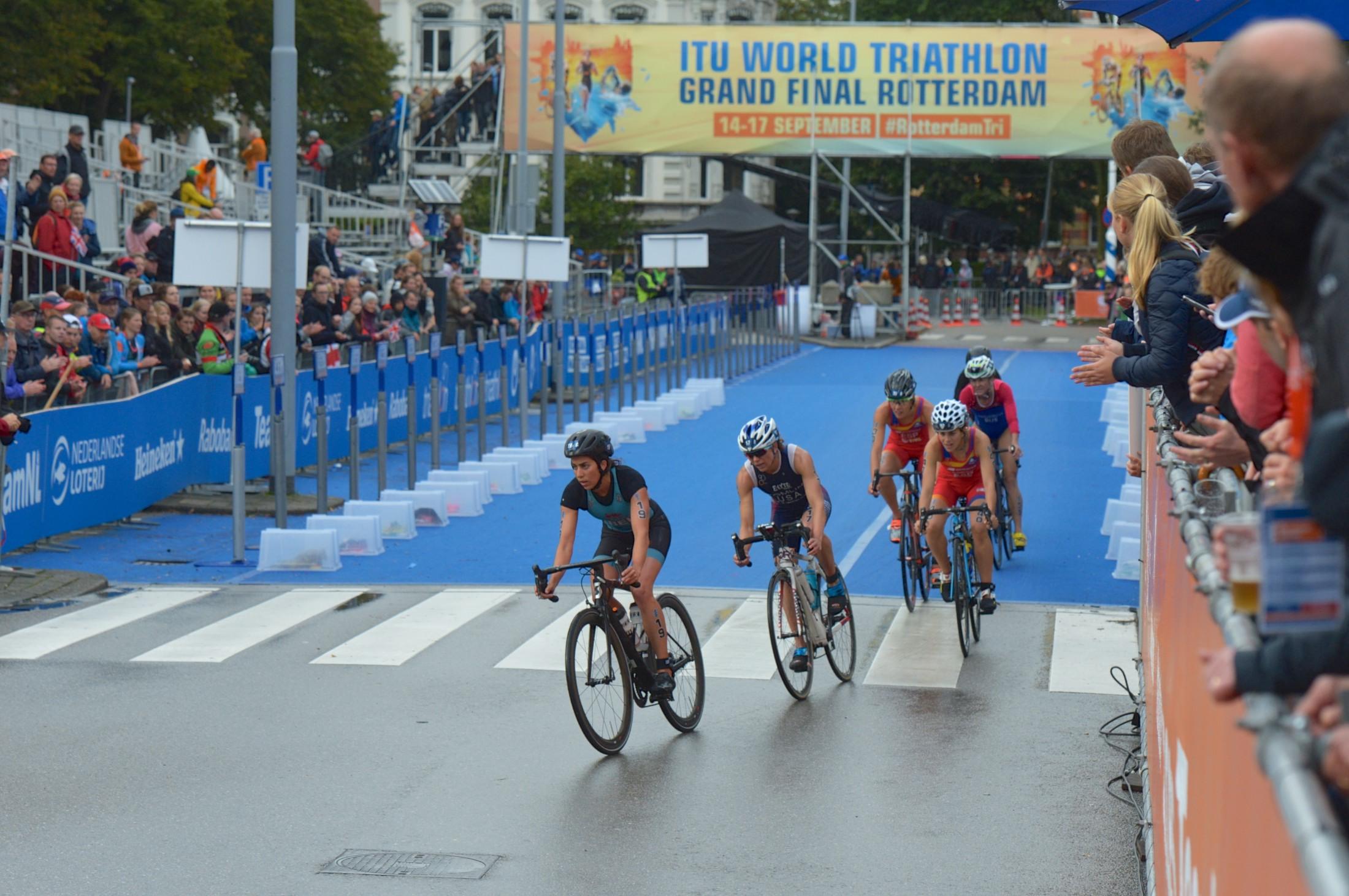 Worldchampionship Triathlon Rotterdam