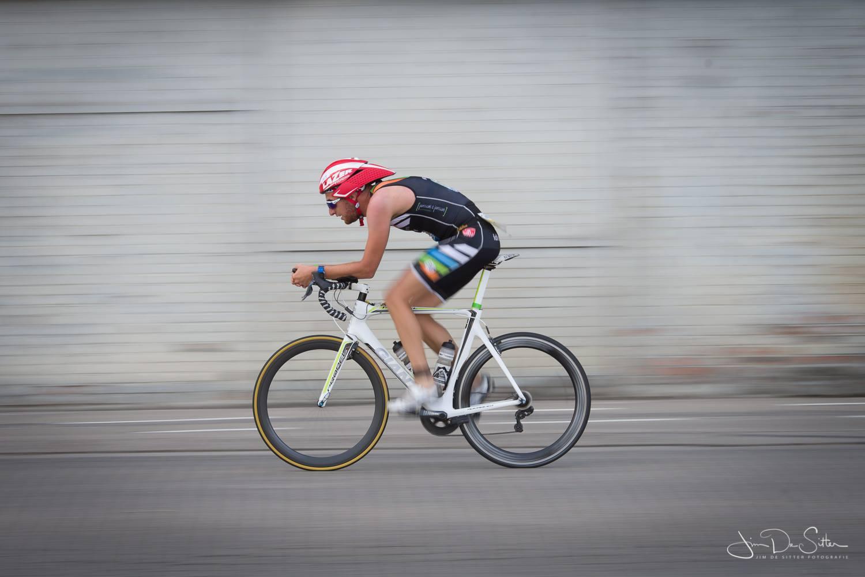 Frederik Van Dijck, onderweg naar Rotterdam (foto: Jim De Sitter)