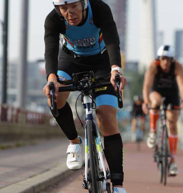 """Liesbeth Wouters over haar WK: """"Met de fiets over het hek"""""""