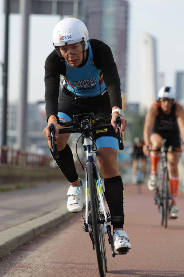 Liesbeth Wouters Rotterdam bike