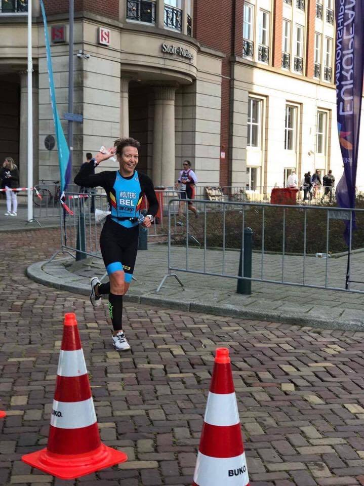 Liesbeth Wouters Rotterdam run 2
