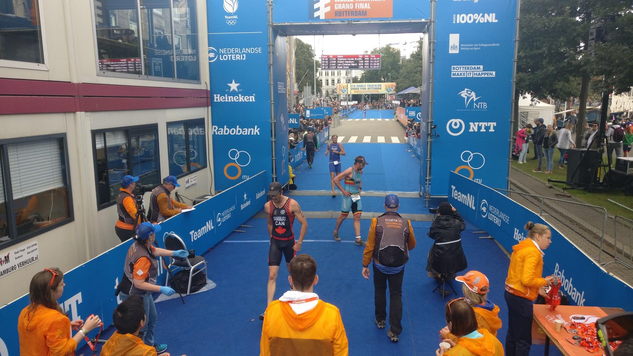 Stephane Van Der Bruggen Rotterdam finish
