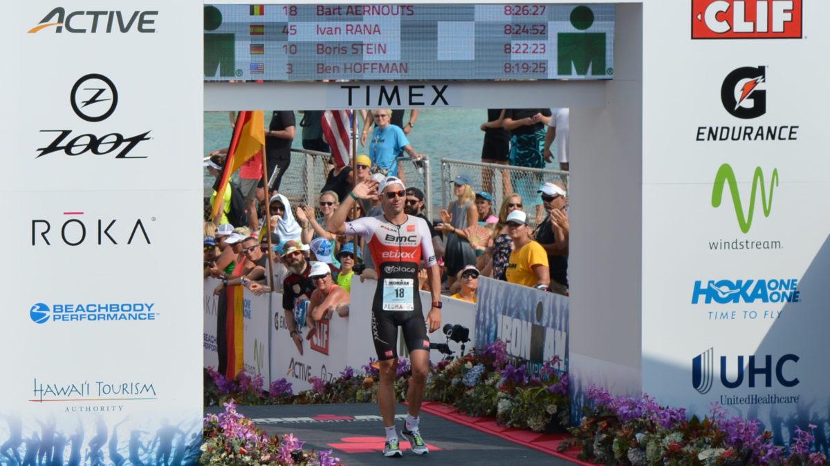 Volg Ironman Hawaii live op 3athlon.be