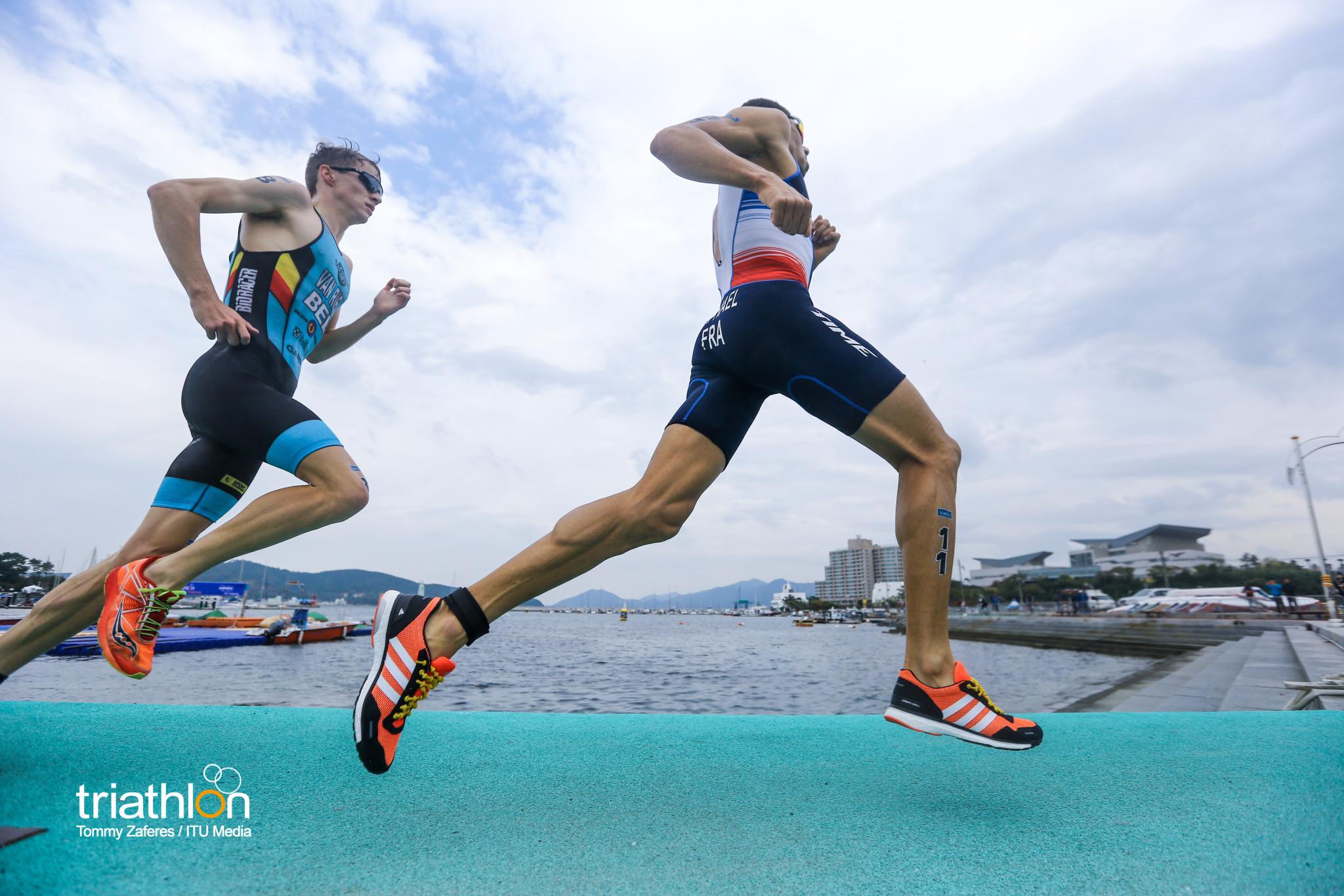 Van Riel volgt Raphael op de voet (foto: ITU/Tommy Zaferes)