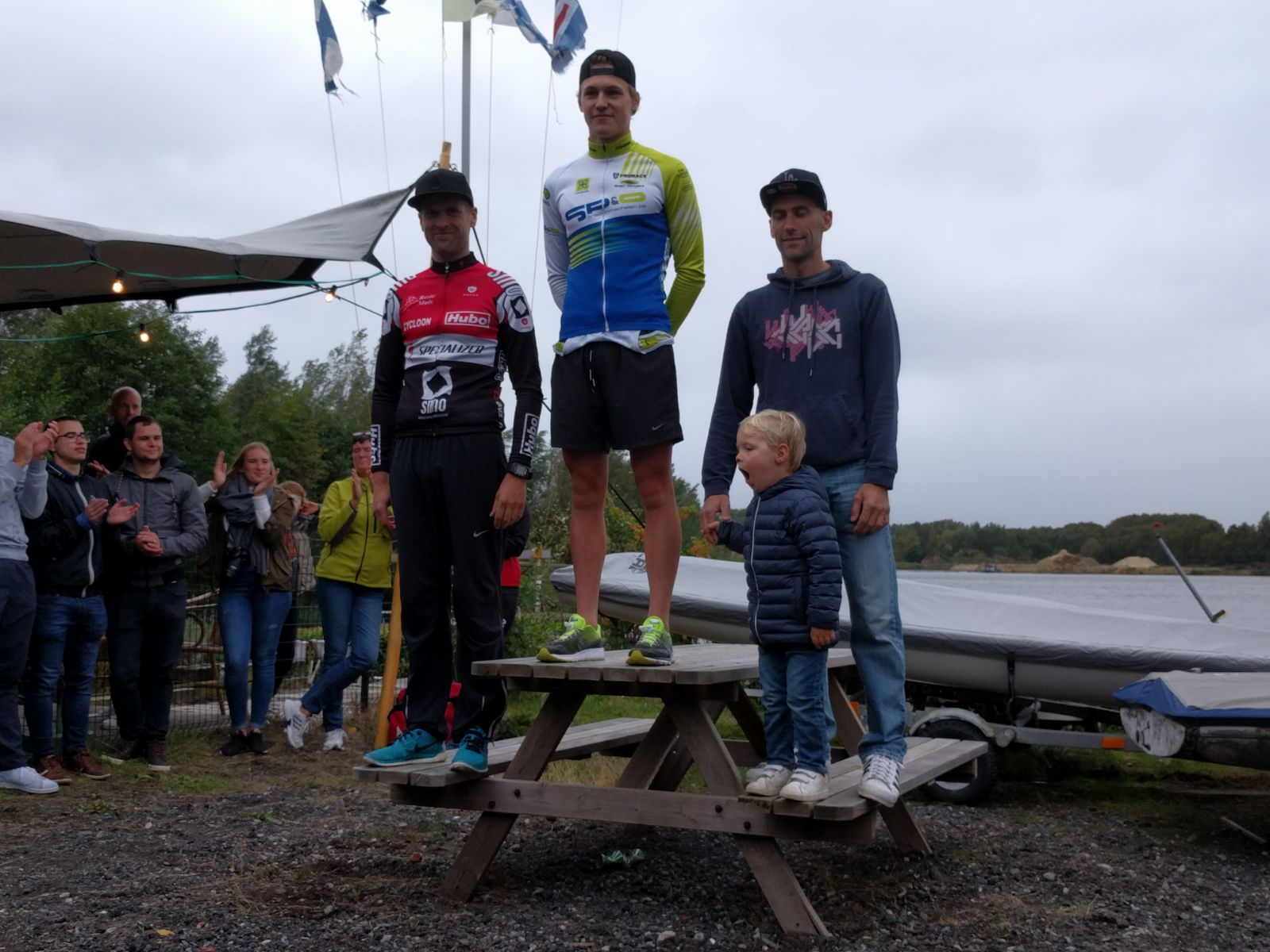 Podium Troy Tim Kevin Waasmunster