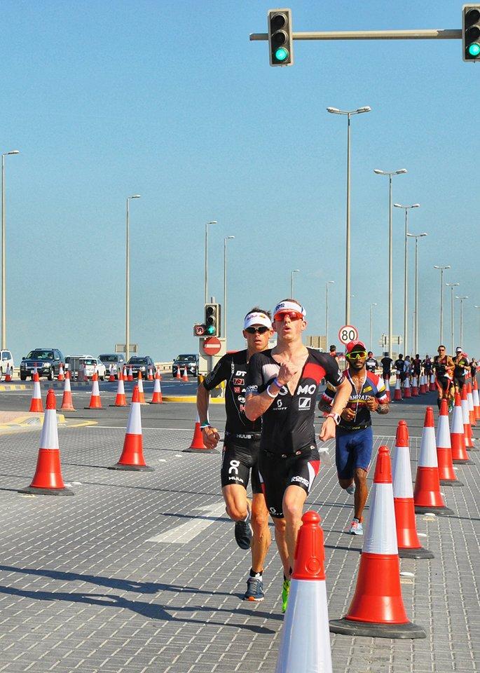 Pieter Heemeryck Bahrein run