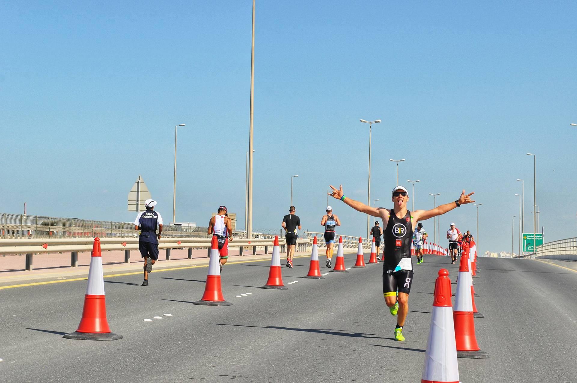 Sven Baccus run Bahrein